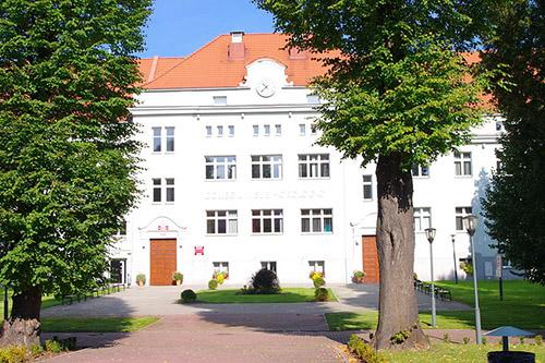 Former Staff Building KZ Auschwitz
