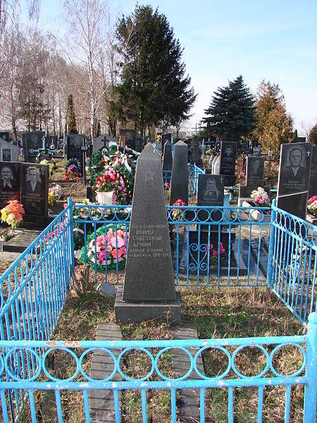 Soviet War Graves Chernyakhiv