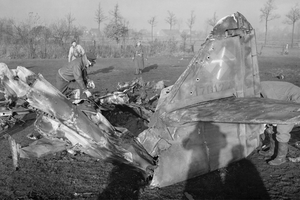 Crash Site Messerschmitt Me 262A-2a 170120