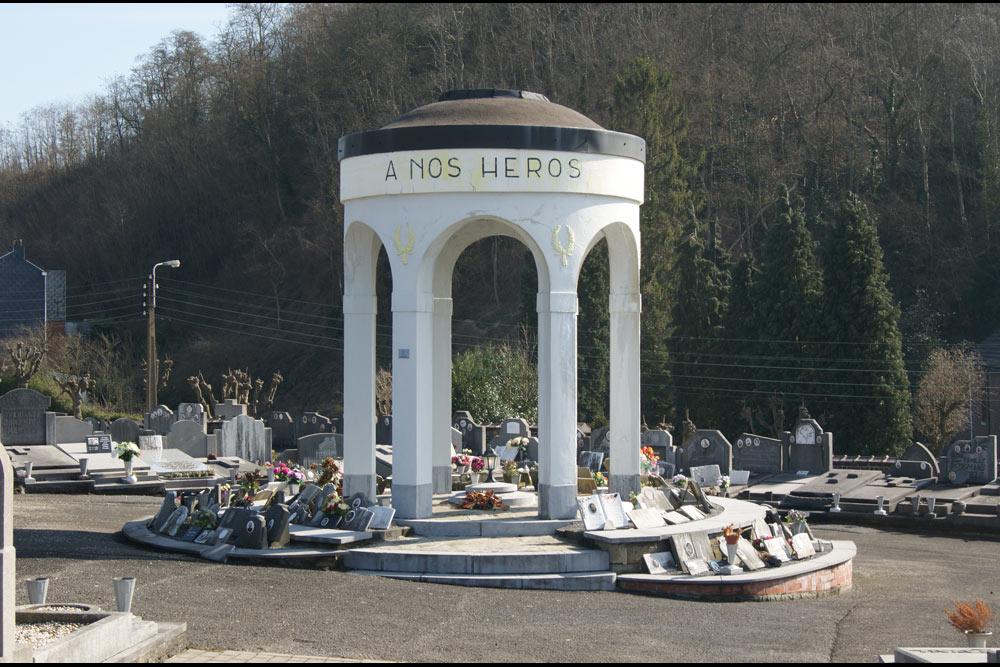 Memorial & Reminder Plaques Cemetery Montegnée