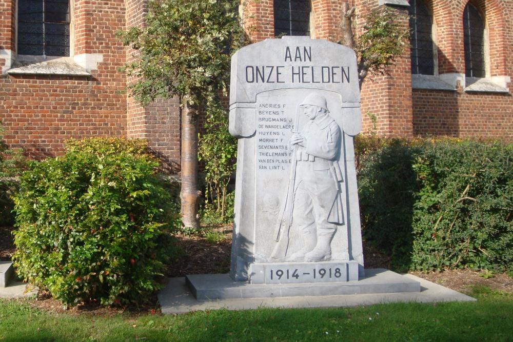 War Memorial Everberg