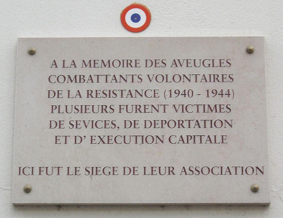 Plaque Blind Resistance Fighters