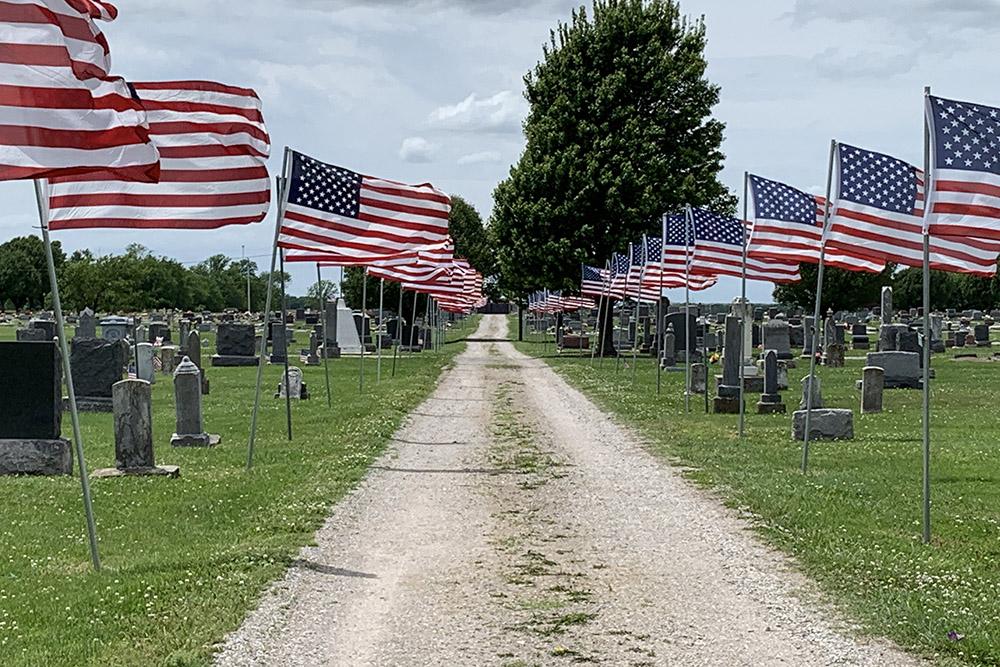 Amerikaanse Oorlogsgraven McCune Cemetery