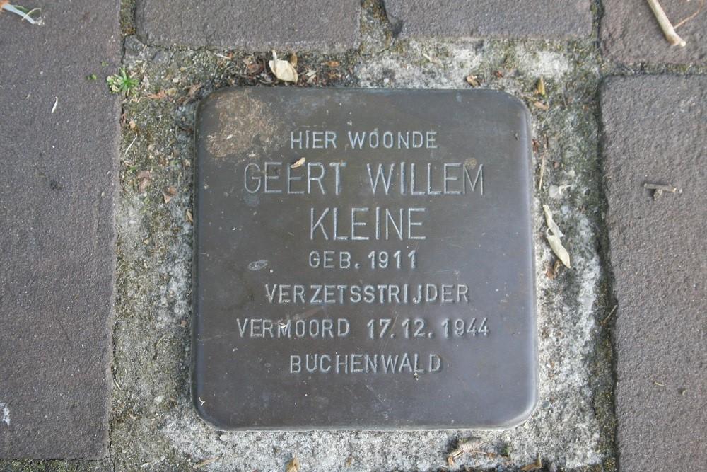 Stolperstein Zuidersingel / Zuidhaege