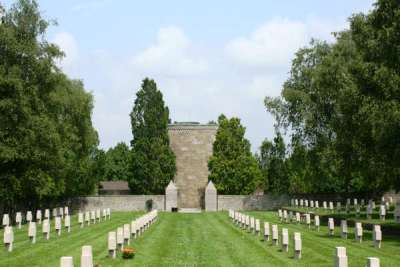 German War Cemetery Bourdon