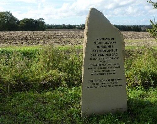 Monument Omgekomen Nederlandse Piloot