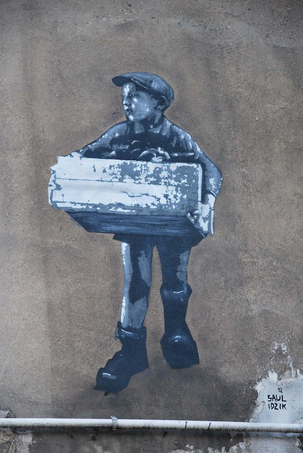 Dzieci Balut Mural Lodz Tracesofwar Com