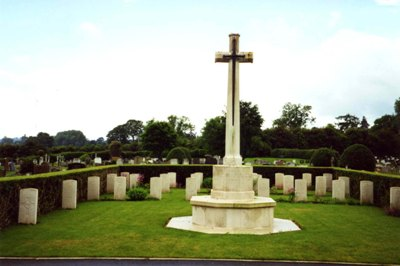 Commonwealth War Graves Oswestry General Cemetery