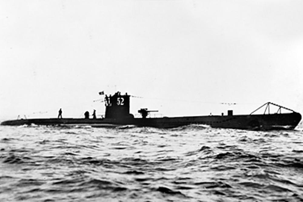 Shipwreck U-74