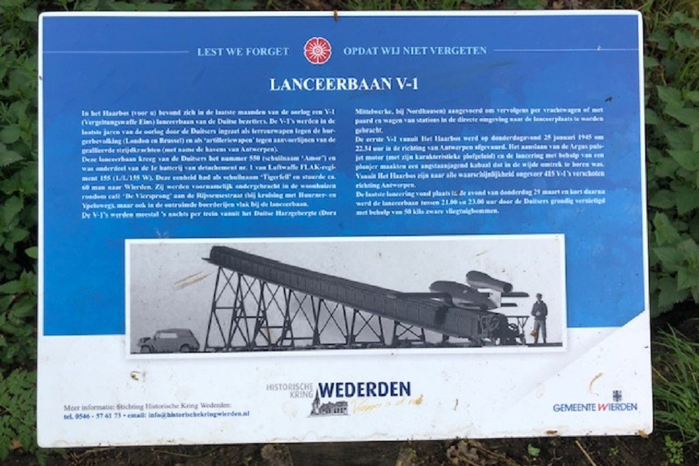 V1 launch location Wierden