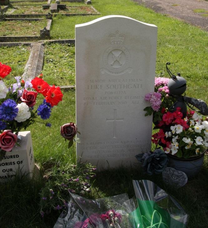 Brits Oorlogsgraf Bury St. Edmunds Cemetery