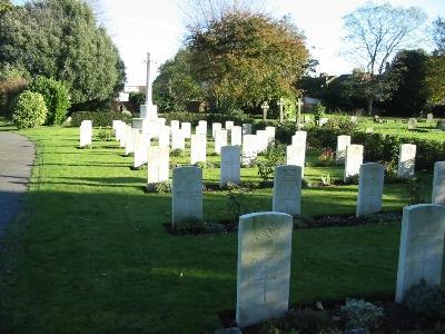 Oorlogsgraven van het Gemenebest Ramsgate and St Lawrence Cemetery