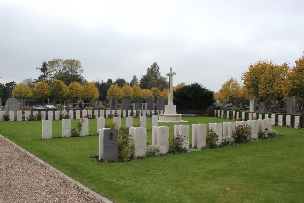 Oorlogsgraven van het Gemenebest Blankenberge