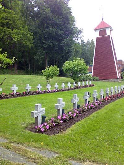 Finnish War Graves Tervakoski