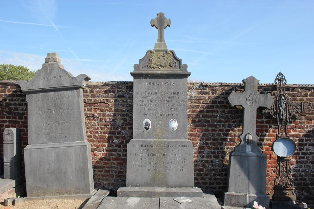 Veteran and Belgian War Graves Neufvilles