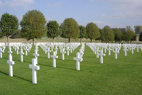Amerikaanse Oorlogsbegraafplaats Somme