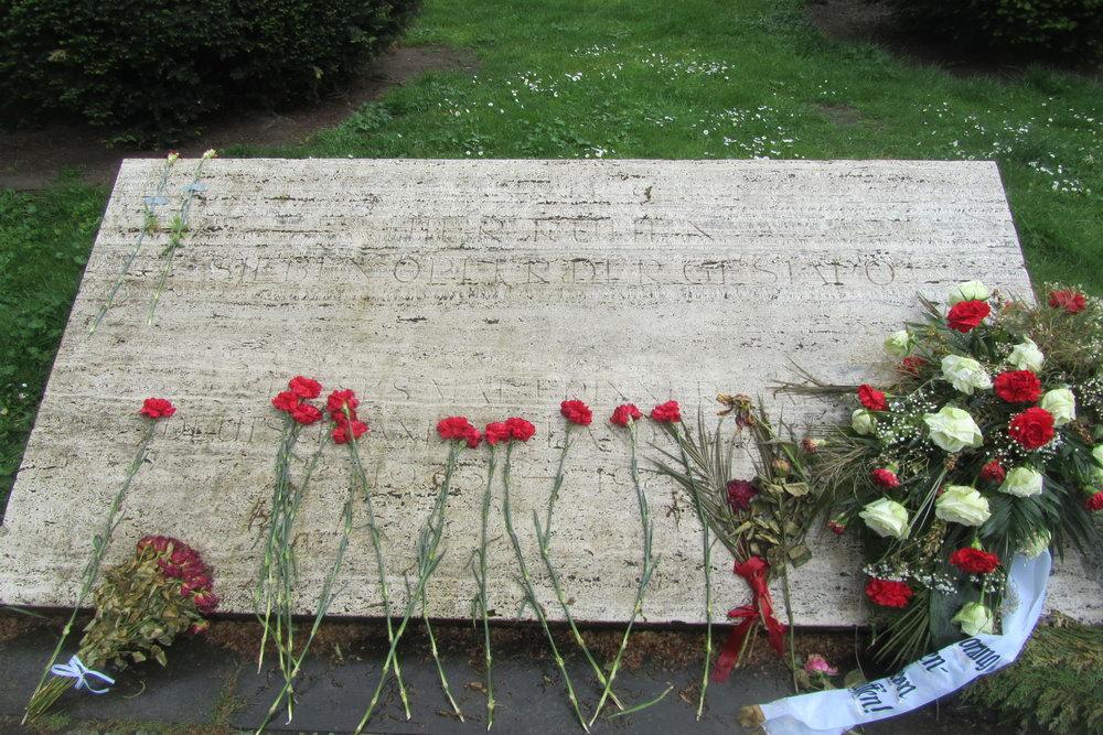 Monument Slachtoffers Gestapo Hansaplatz