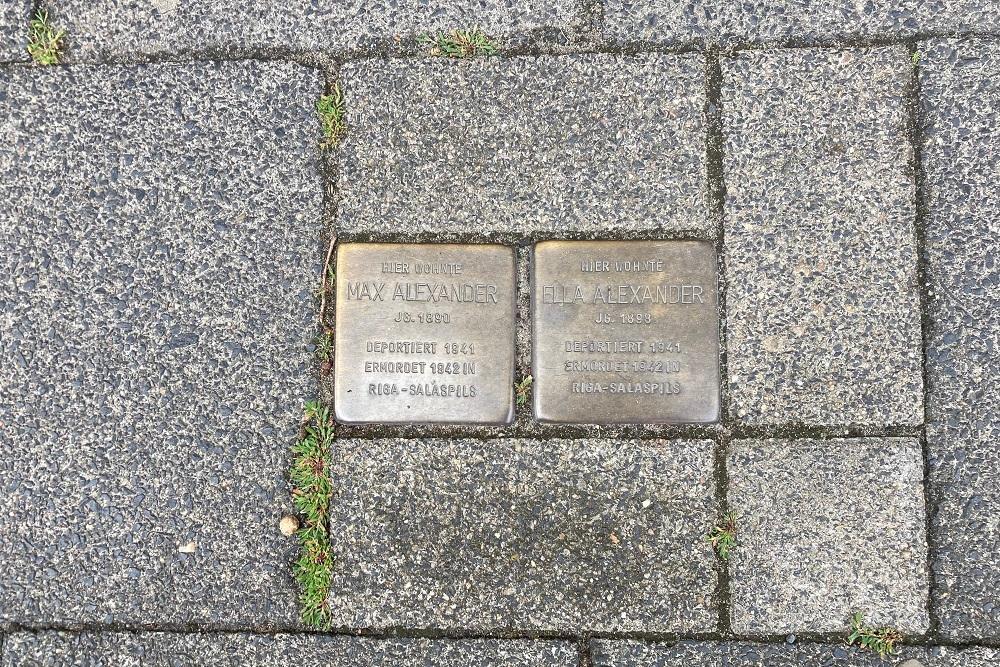 Stumbling Stones Lingener Straße 8