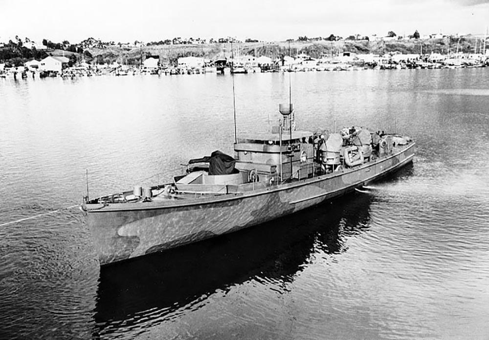 Scheepswrak U.S.S. PGM-18