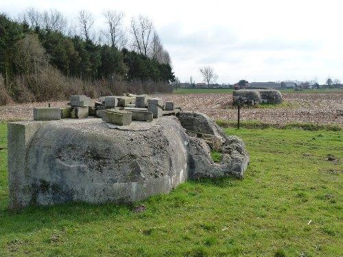 German Infantry Observation Post Hoogeinde
