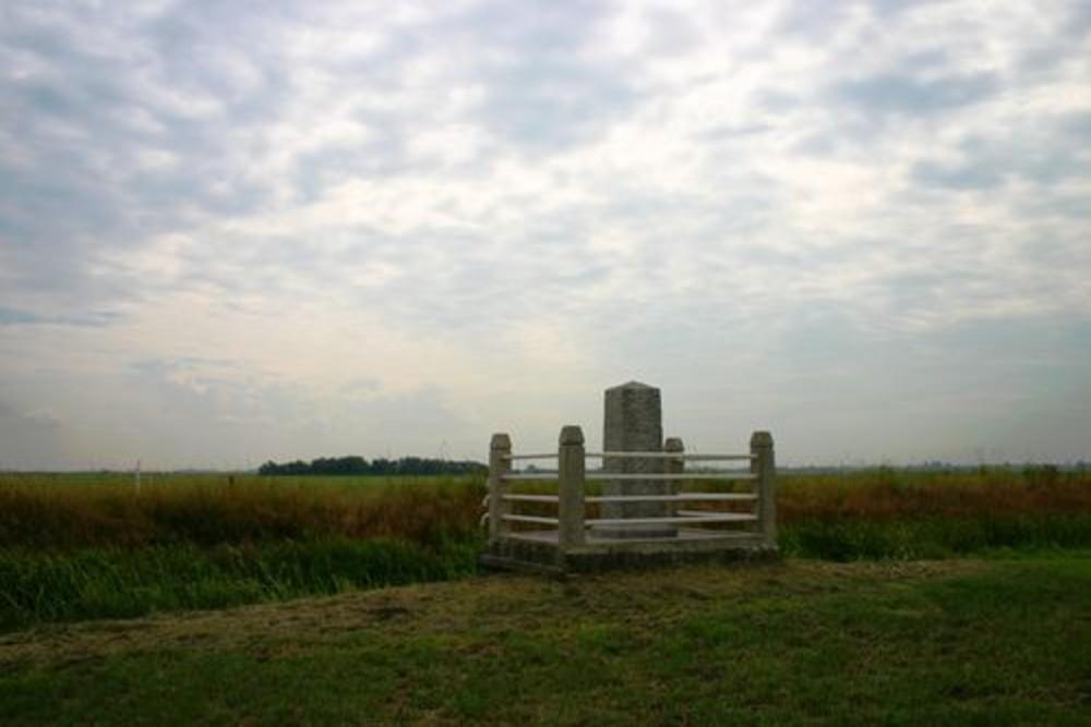 Monument Neergestorte Lancaster Bommenwerper