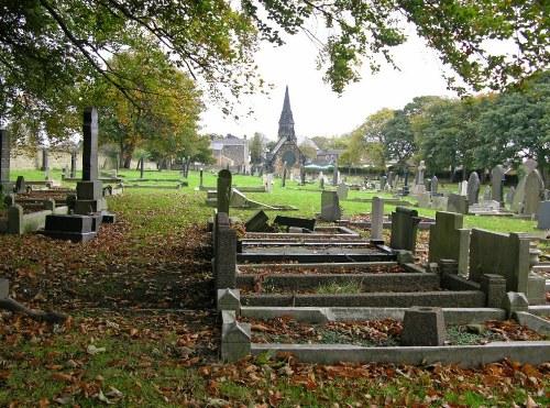 Commonwealth War Graves Monk Bretton Cemetery