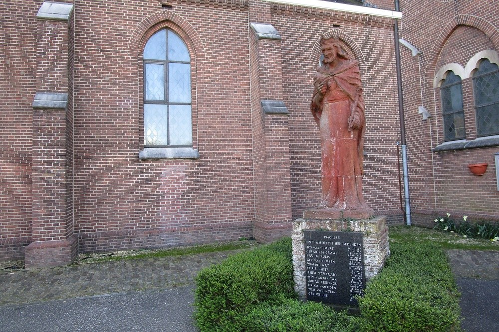 Oorlogsmonument Hintham