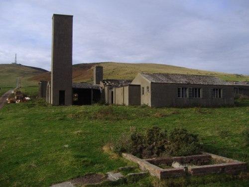 Restanten Militaire Gebouwen Hillside of Prieston