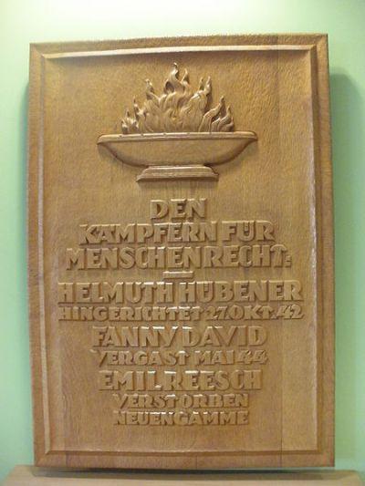 Monument Omgekomen Medewerkers Sociale Dienst