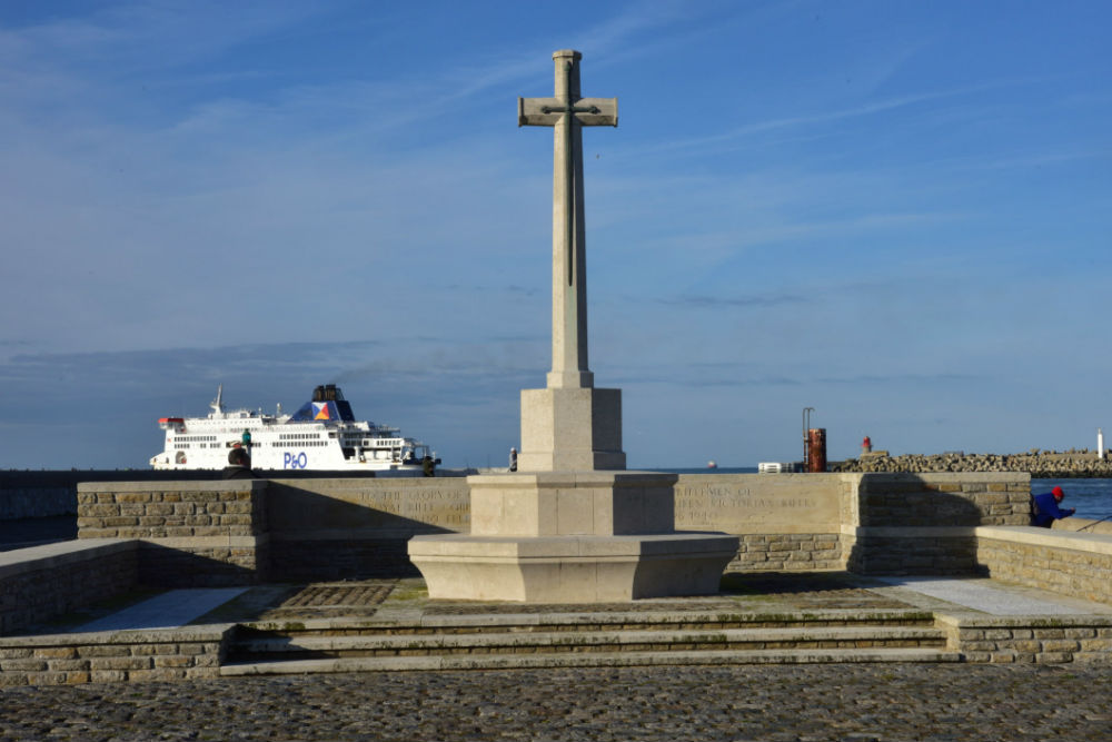 Monument Verdediging Calais Mei 1940