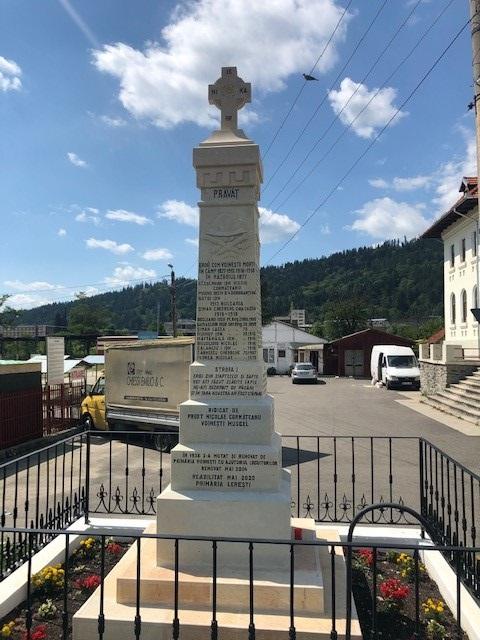 War Memorial Voinești