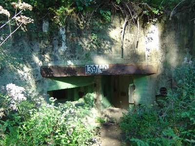 Westwall - Pillbox No. 139/40 on Der Buhlert