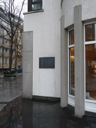Plaque Synagogue Adass Jeschurin