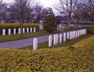 War Graves Oaston Road Cemetery