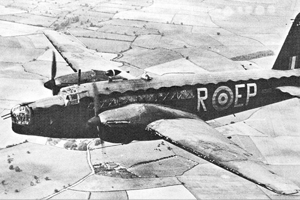 Crash Site Vickers Wellington Mk II Z8591