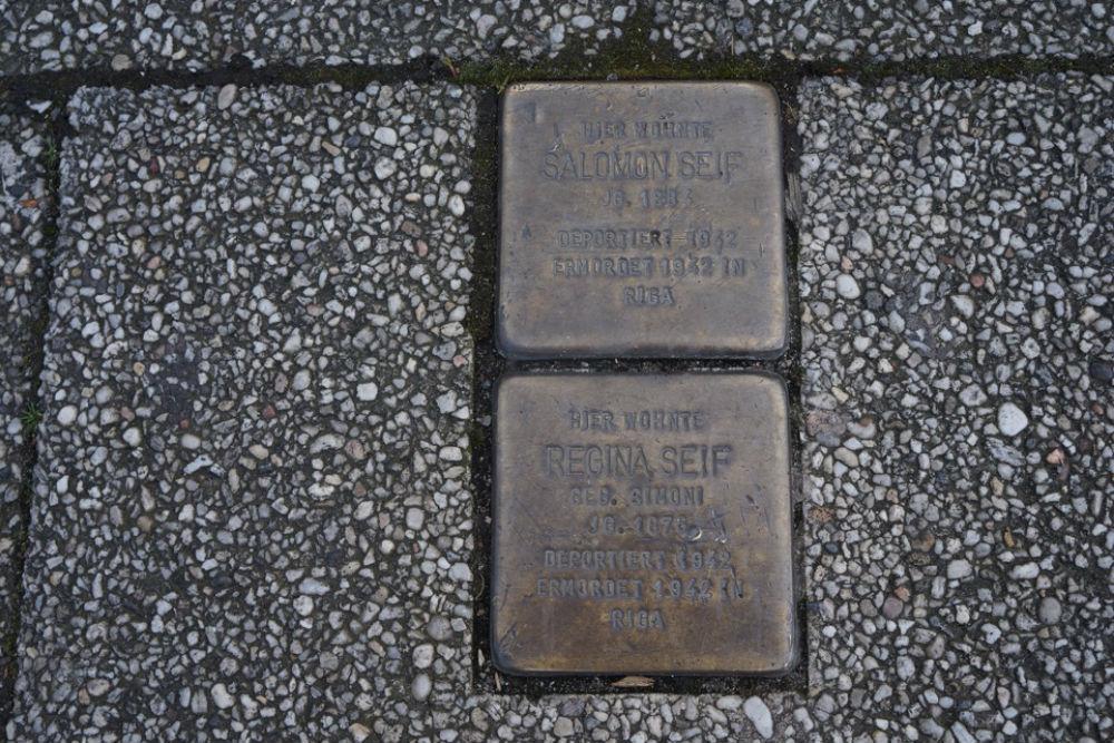 Stumbling Stones Nobelstraße 28