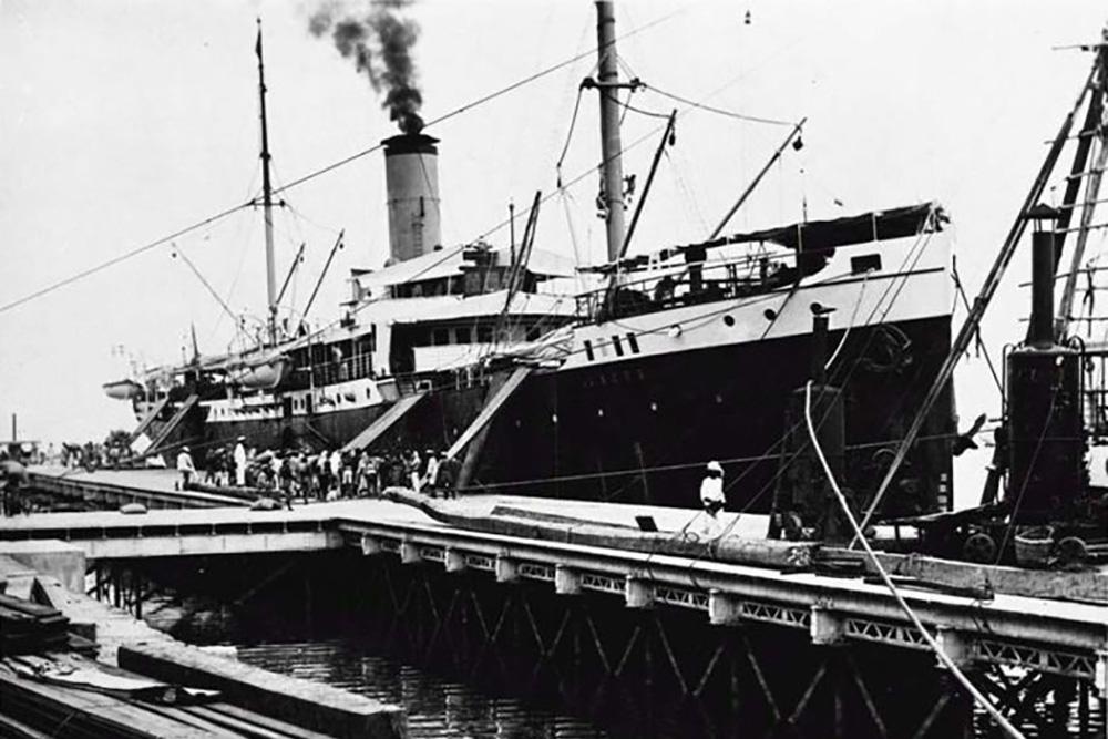 Shipwreck SS 's Jacob