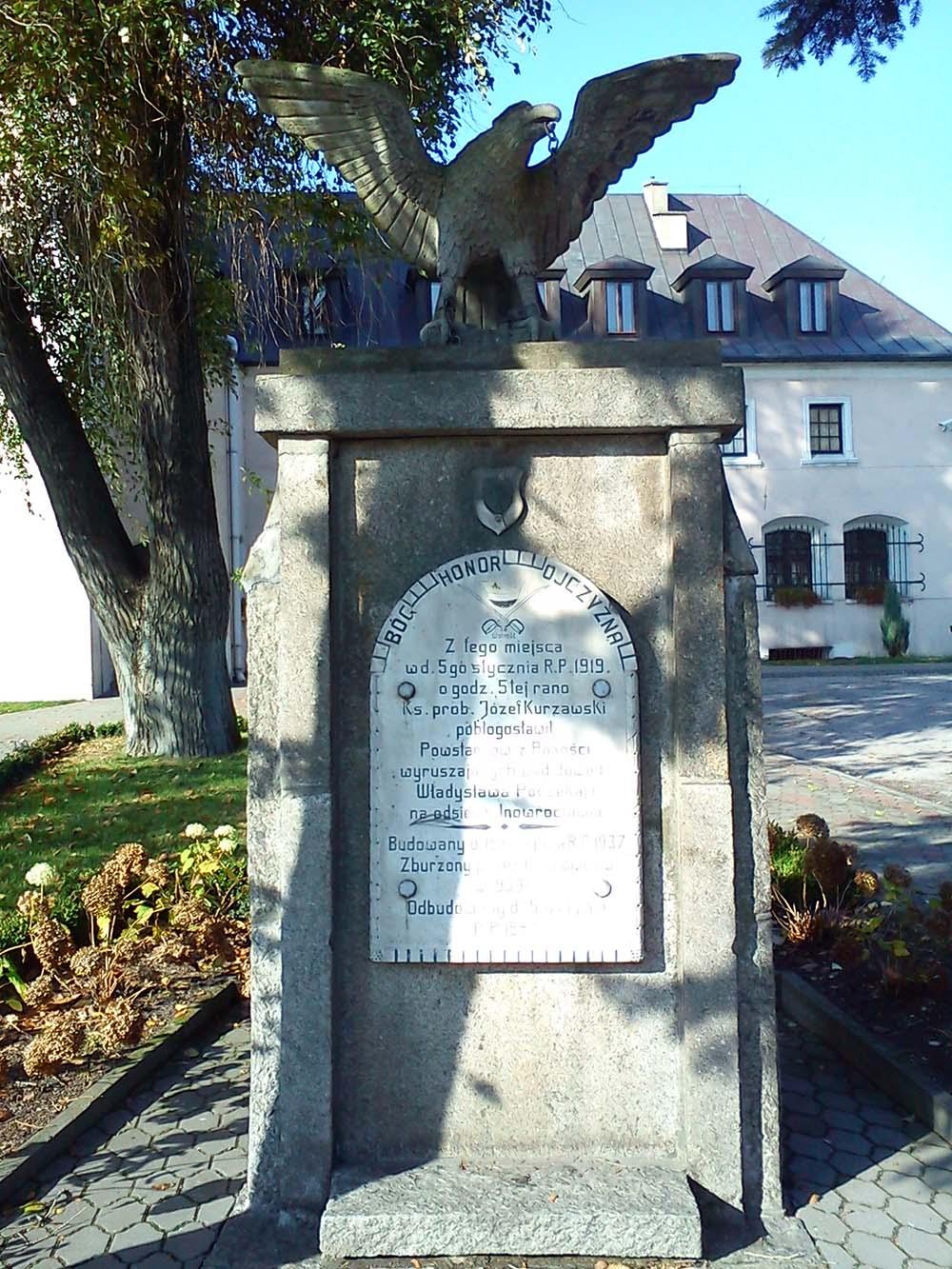 Memorial 5 January 1919