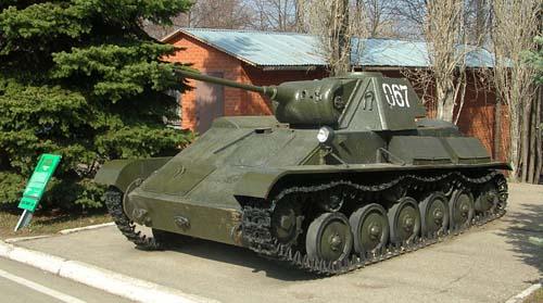 Victory Park Saratov - T-70 Light Tank