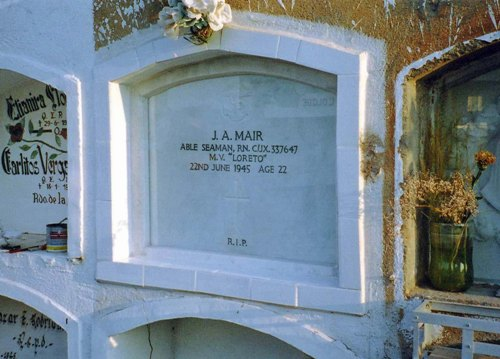 Commonwealth War Grave Arica