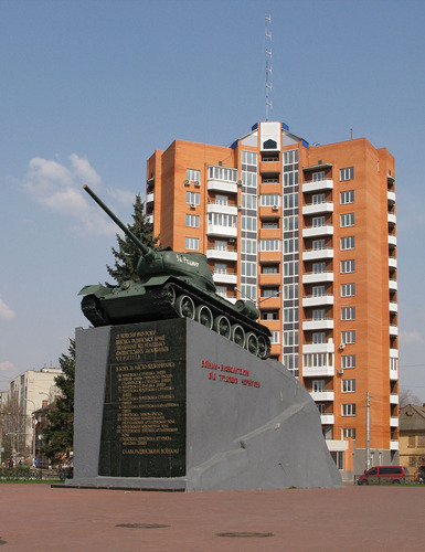 Bevrijdingsmonument (T-34/85 Tank) Chernihiv