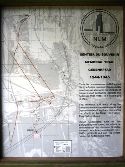 Gedenkpad 1944 - 1945 Nothum