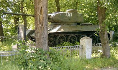 Russisch Tank Monument Kunowice