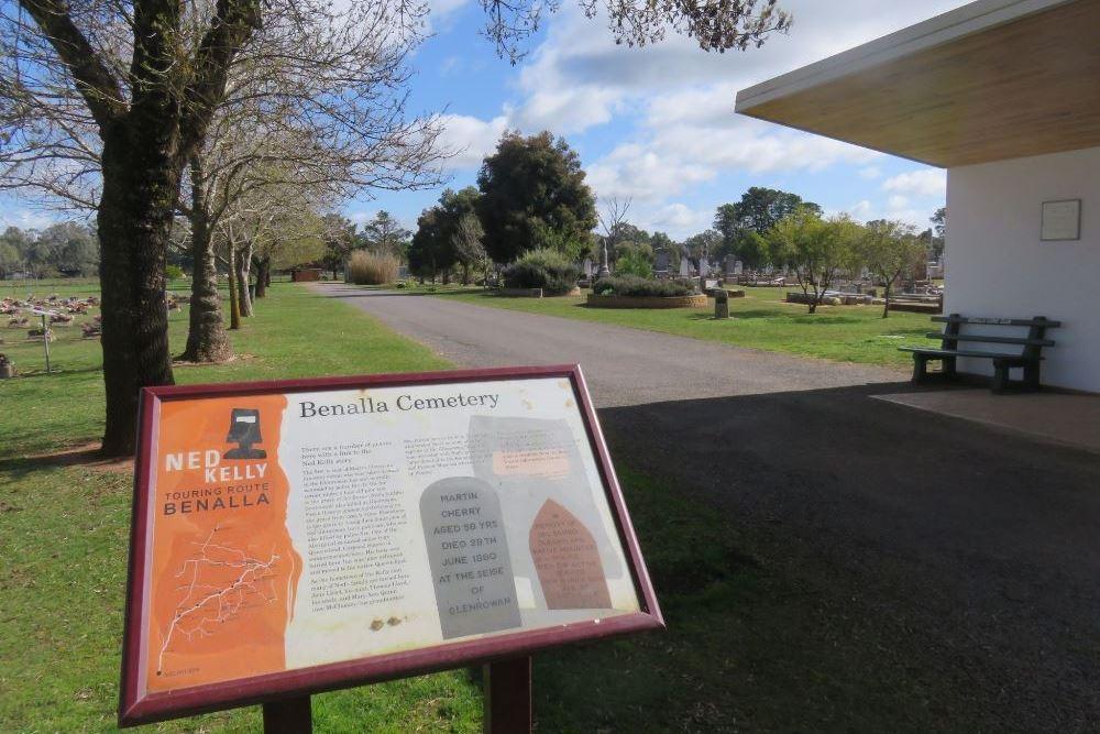 Commonwealth War Graves Benalla Cemetery