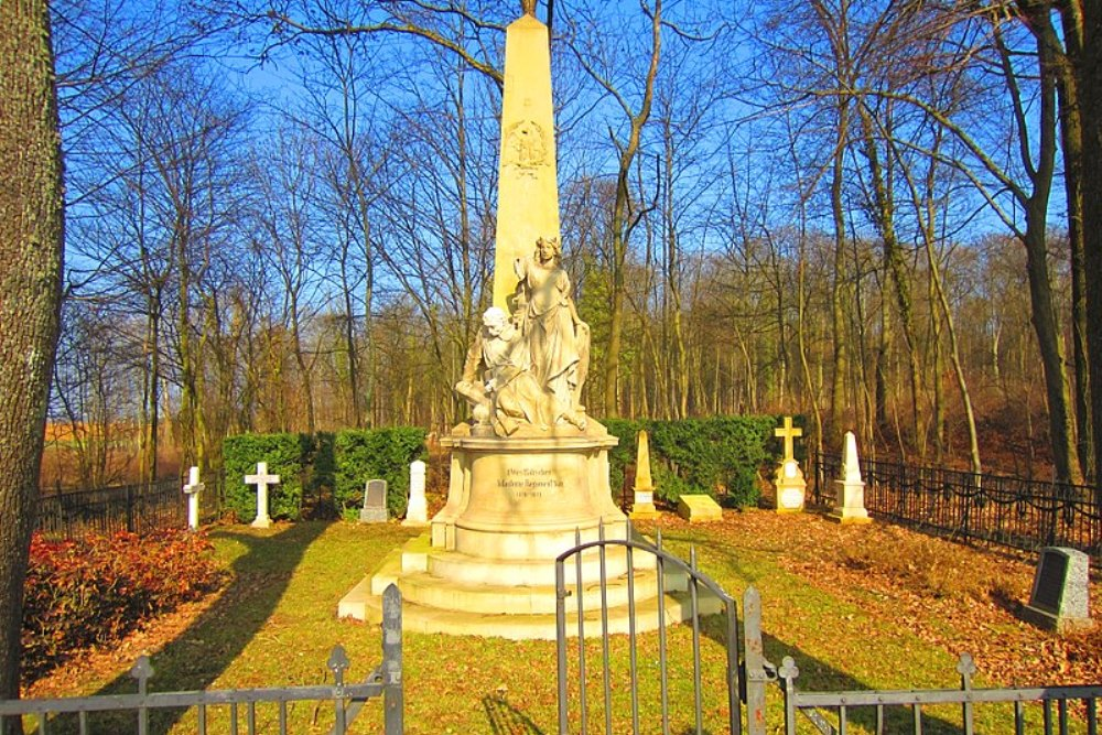 German Cemetery Franco-Prussian War Coincy