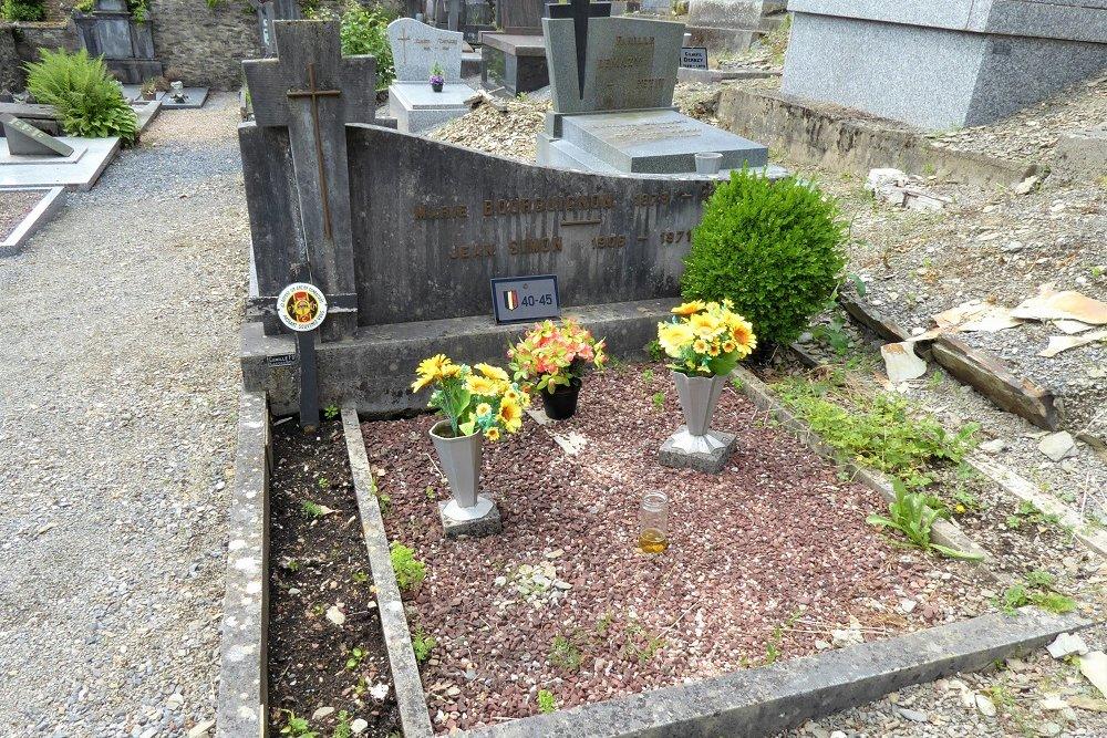 Grave Veteran Frahan