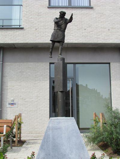 Standbeeld Maczek