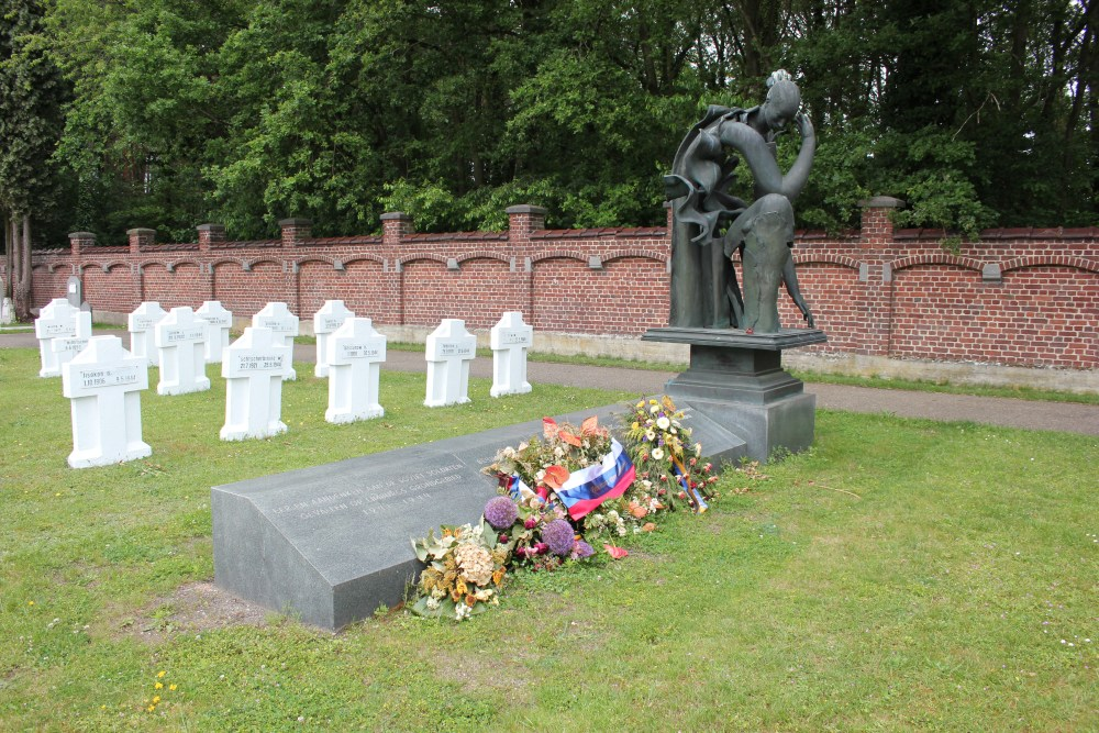 Russian War Memorial Cemetery Genk