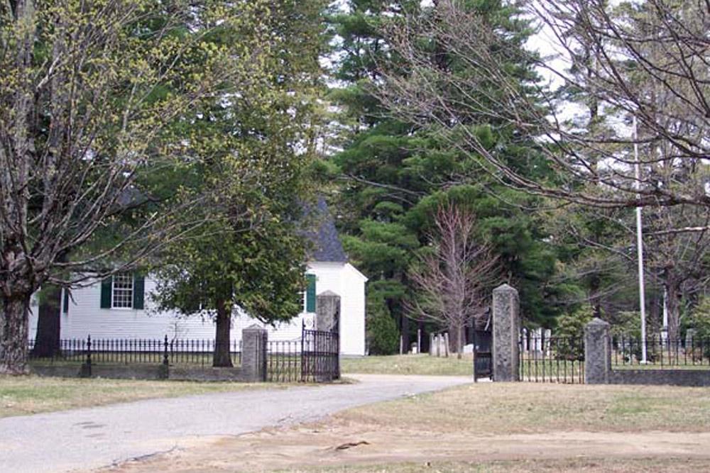Amerikaans Oorlogsgraf Trinity Churchyard Cemetery