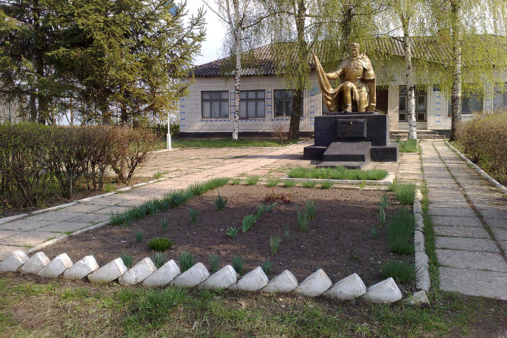 Mass Grave Soviet Soldiers Bobyne